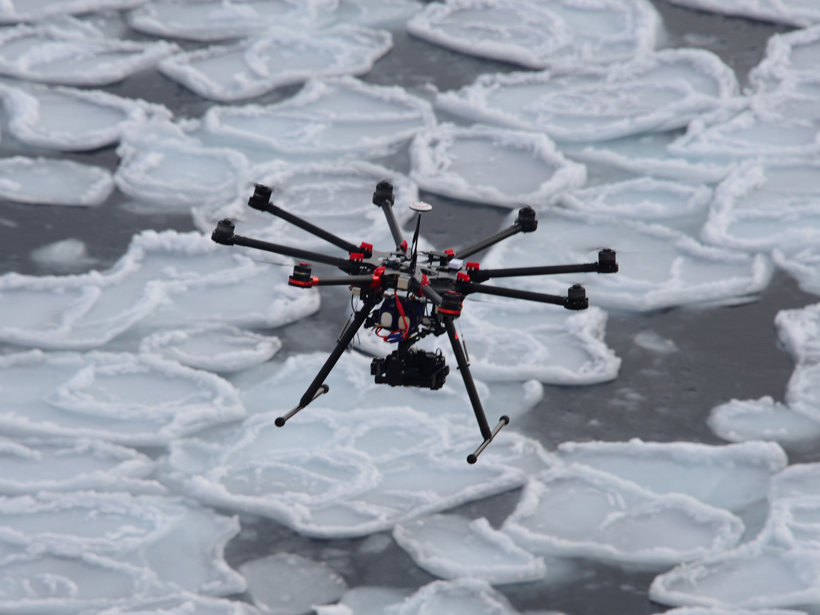 Aerial Vehicles in Antarctic Regions